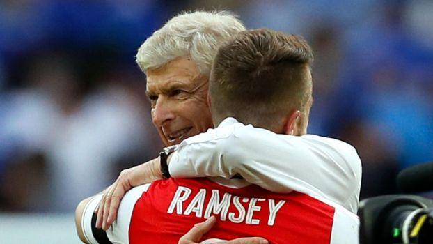 Aaron Ramsey Arsene Wenger